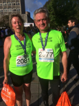 Penny & Roger, Plymouth 10k  2019